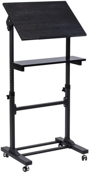 Mount It  Mobile Stand Up Desk  Podium