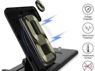 KKM Wireless Charger  4 in1 Wireless Charging