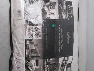 Fairmont luxury Gel Fibre Pillow   Standard Firm