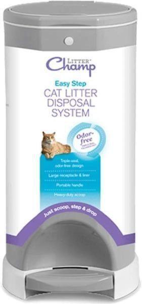 litter Champ Premium Odor Free Cat litter Disposal