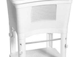 Zenna Home Ergo Tub Sanitation Station  White