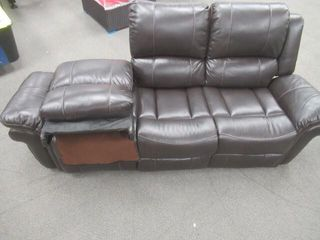 As Is  Classic 3 Seat Bonded leather Double
