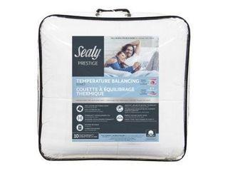 Sealy King Size Temperature Balancing Comforter