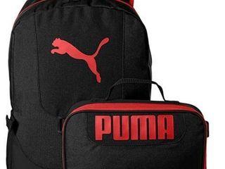 PUMA unisex child lunch Box Combo Kid s Backpack