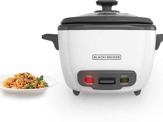 BlACK DECKER 2 in 1 Rice Cooker and Food Steamer