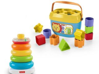 Fisher Price Rock a Stack   Baby s First Blocks