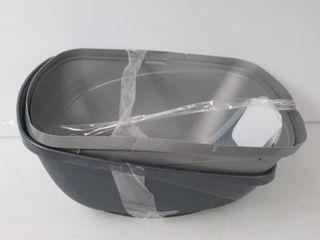 As Is  Petmate 42091 Basic Hooded litter Pan