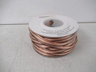Basics 100ft 16 Gauge Audio Stereo Speaker Wire