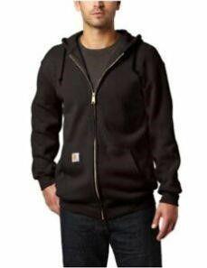 Carhartt Men s Xl Midweight Hooded Zip front