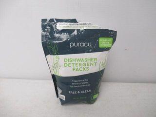 Puracy Platinum Dishwasher Detergent Pods  50