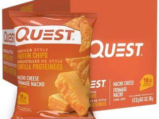 8Pk Quest Nutrition Nacho Cheese Flavour Tortilla