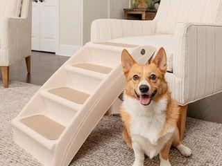 PetSafe Solvit PupSTEP Plus Pet Stairs  Foldable