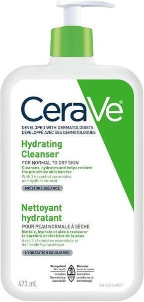 CeraVe Hydrating Face Wash  Daily Facial Cleanser
