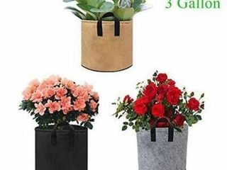 Grow Bags  Relime 3 Pack Color Mix Plant Bags 3