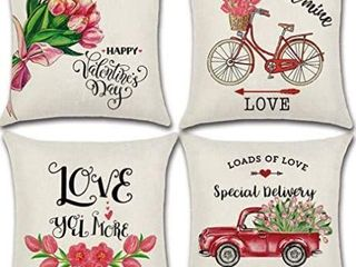 Factory Sealed  PTHAHNIl Valentine s Day Pillow