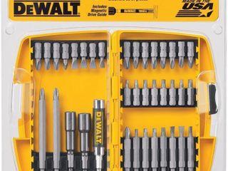 DeWalt DW2173 37  Pc Screwdriving Set w  Square
