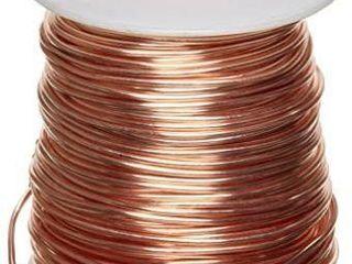Bare Copper Wire  Bright  18 AWG  0 04  Diameter