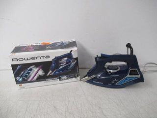 Used  Rowenta DW9280 Digital Display Steam Iron
