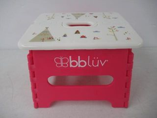 As Is  bbluv   Step   Foldable Step Stool   Safe