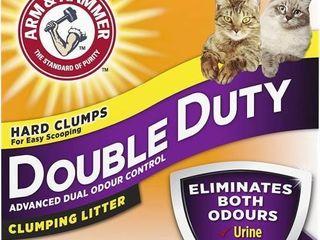 ARM   HAMMER Double Duty Cat litter  Advanced Dual