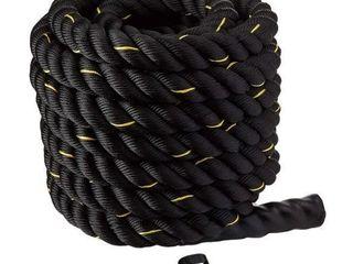Battle Rope   2  Diameter   Poly Dacron 30ft