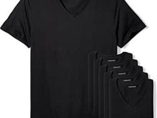 6 Pk Essentials Men s XXl Crewneck Undershirts