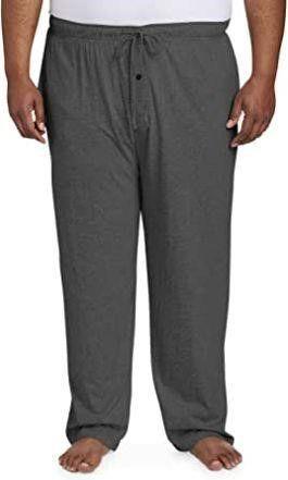 Essentials Men s Xl Knit Pajama Pant  Charcoal