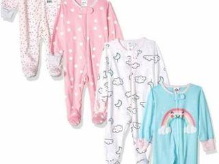 4 Pk Gerber Baby Girls  Newborn Sleep  N Play