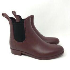 Women s 7 5 Ankle Rain Boots Waterproof Chelsea