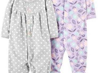 2 Pk Simple Joys by Carter s Girls  6 9M Fleece
