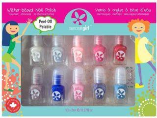 Suncoat Girl 10 Mini Nail Polish Kit  Flare and