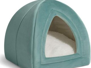Bedsure Pet Tent Cave Bed for Cats Small Dogs