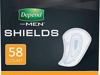 Depend Shields for Men with Incontinence  light