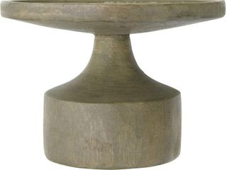 Creative Co Op DF2258 Mango Wood Candleholder with