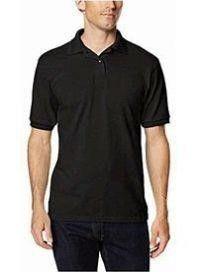 Hanes Men s MD Short Sleeve Jersey Pocket Polo