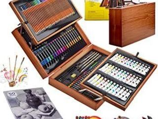 KINSPORY 174 PCS Deluxe Coloring Art Set Painting