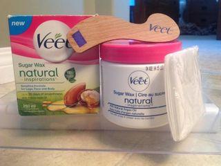 Veet Natural Inspirations Sugar Wax legs  Face and