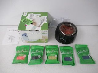 Used  Greenlife Hair Removal Wax Warmer Kit