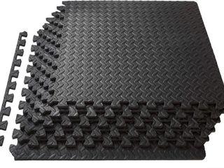ProsourceFit Puzzle Exercise Mat  EVA Foam