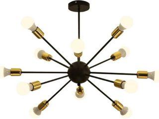 Surpars House 12 lights Sputnik Chandelier