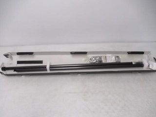Umbra Cappa Brushed Black Curtain Rod 66 120