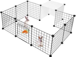 lIVINGbasics Pet Dog Playpen  Small Animal Cage