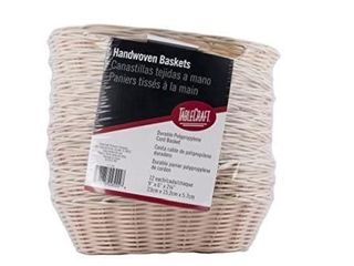 TableCraft Products C1174W Basket  Oval  Natural