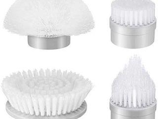 Homitt 4pcs Power Spin Scrubber Replacement Brush