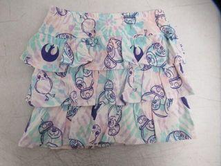 Spotted Zebra Girls  MD Star Wars Tie Dye Knit