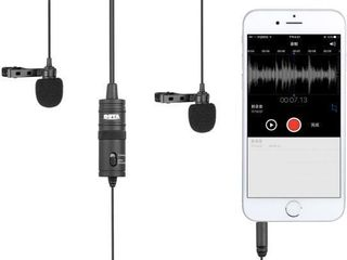 Dual lavalier Microphone for Smartphone Camera