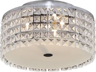 Bazz Glam Decorative Ceiling Fixture  Dimmable