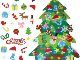 Faylapa Kids DIY Felt Christmas Tree 3 3ft