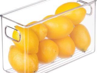 iDesign BPA Free Plastic Deep Kitchen Storage Bin