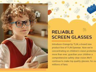 TIJN Kids Blue light Glasses Clear Eyewear